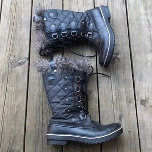 Sorel Joan of Arctic Boot Black 9